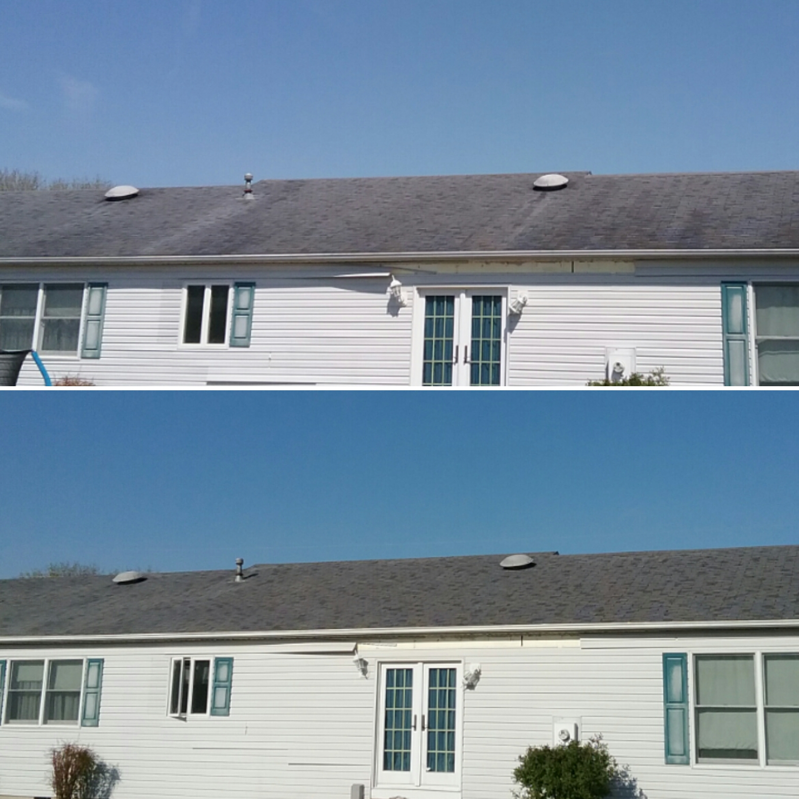 Roof Cleaning White House Reflections Exterior Services